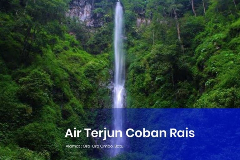 air terjun coban rais